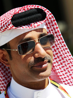 Sheikh Salman bin Isa Al-Khalifa, Chief Executive of Bahrain International Circuit