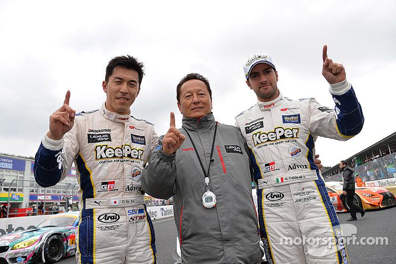 Vincitori GT500 Daizuke Ito e Andrea Caldarelli