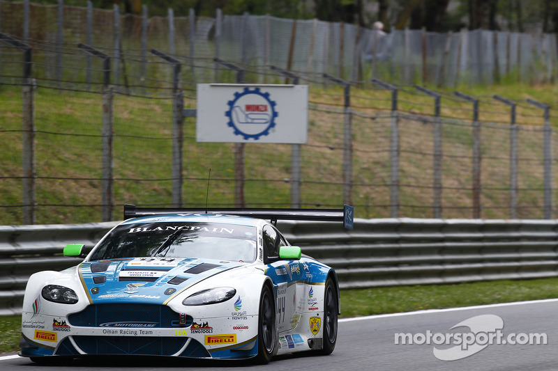 #44 Oman Racing Team Aston Martin Vantage GT3: Stephen Jelly, Ahmad Al Harty, Michael Caine