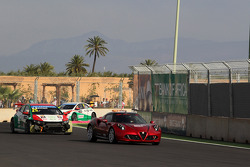 The Safety car on the track