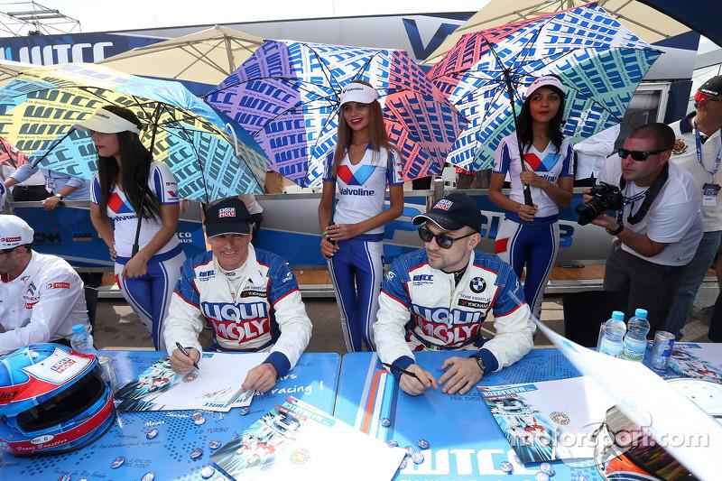 Franz Engstler, 320 TC, Liqui Moly Engstler Takımı ve Pasquale Di Sabatino, BMW 320 TC, Liqui Moly E