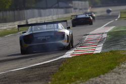 #25 Sainteloc Racing Audi R8 LMS Ultra: Jean-Claude Lagniez, Claude-Yves Gosselin, Marc Sourd