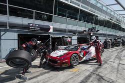 #42 Sport GarageFerrari 458 Italia: Michael Albert, Stéphane Lemeret, Gilles Vannelet