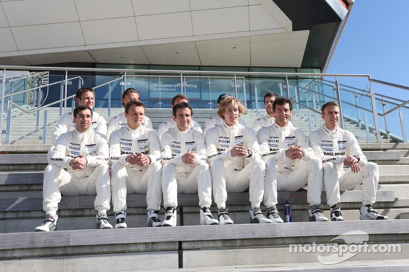 Neel Jani, Romain Dumas, Marc Lieb, Brendon Hartley, Timo Bernhard, Mark Webber