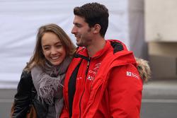 Jose Maria Lopez, Citroën C-Elysée WTCC, Citroën Total WTCC and his girlfriend