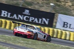 #85 HTP Motorsport Mercedes SLS AMG GT3: Stef Dusseldorp, Sergei Afanasiev
