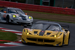 #81 Kessel Racing Ferrar F458 İtalya: Kola Aluko, Thomas Kemenater, Matteo Cressoni