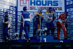 GTC Podyum: Kazananlar Andriy Kruglyk, Sergii Chukanov, Alessandro Pier Guidi, ikinci sıra Olivier B