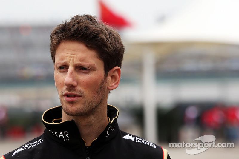 2014 - Romain Grosjean, Lotus F1