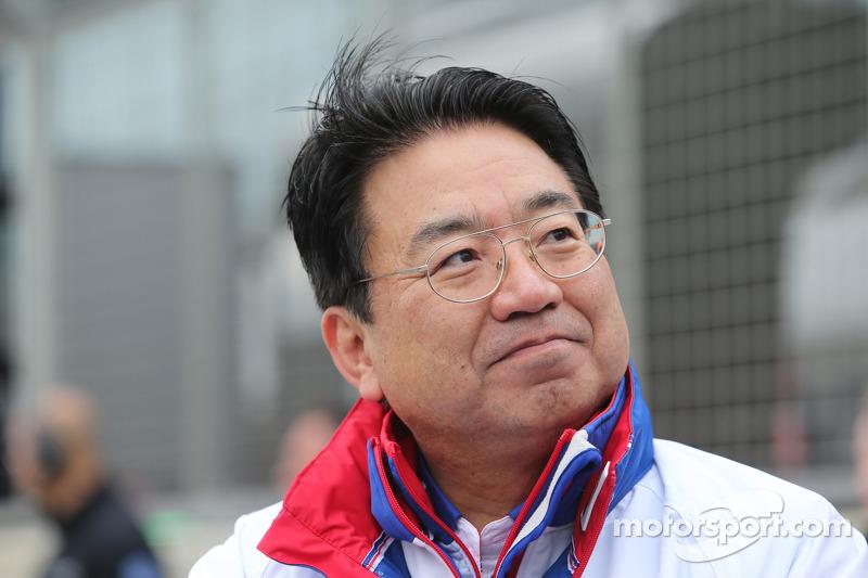 Yoshiaki Kinoshita, Presidente del equipo Toyota