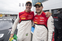 Race winners Cesar Ramos, Laurens Vanthoor