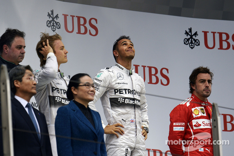 57-Gran Premio de China 2014 (1º), Mercedes