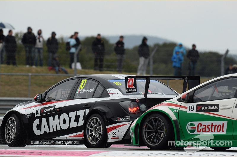 Gianni Morbidelli, Chevrolet Cruze RML TC1, ALL-INKL_COM Munnich Motorsport e Tiago Monteiro, Honda
