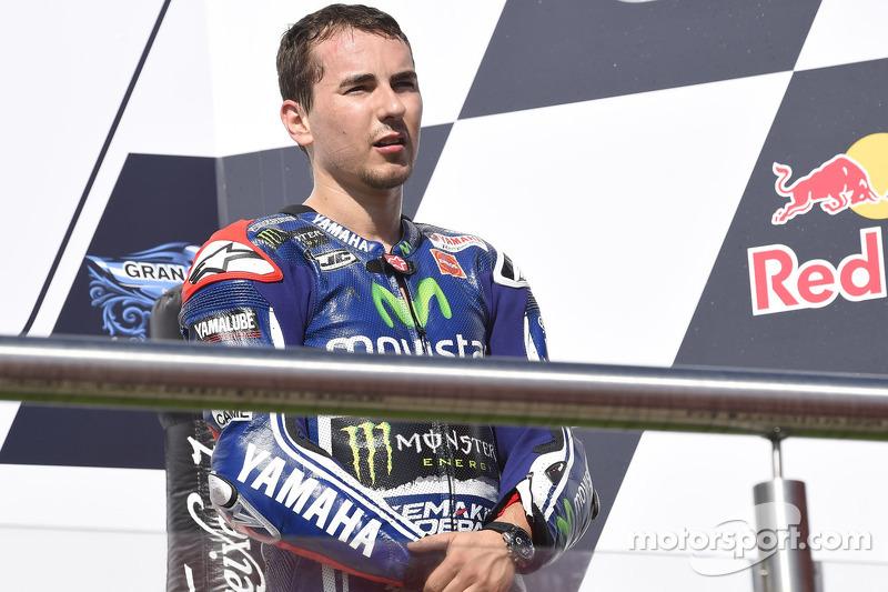 Terzo posto Jorge Lorenzo, Yamaha Factory Racing