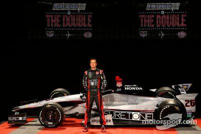 Kurt Busch Indy 500 livery launch