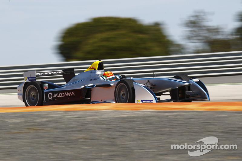 Ho-Pin Tung Spark-Renault STR_01E testi