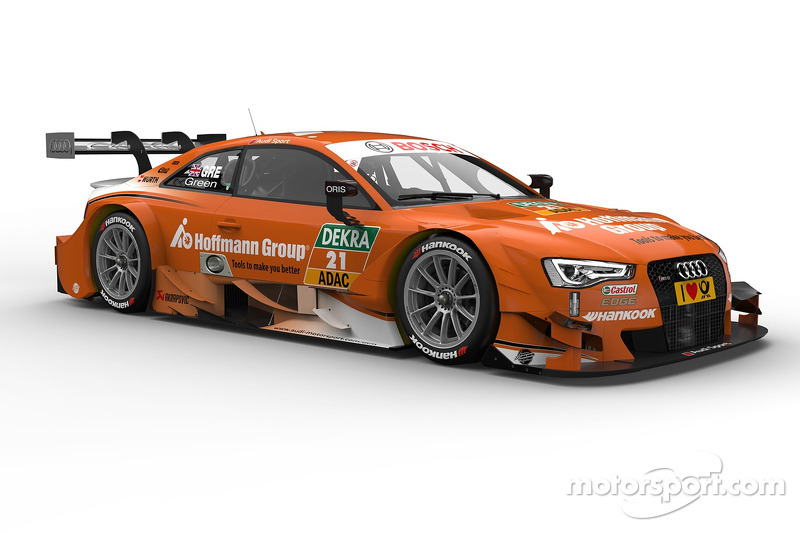 Jamie Green, Hoffmann Group Audi RS 5 DTM at Hockenheim - DTM Photos