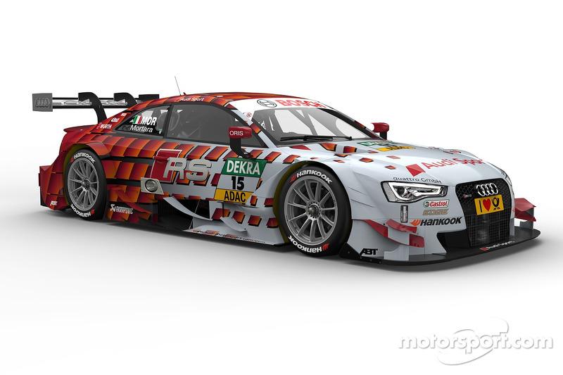Edoardo Mortara, Audi Sport Takımı Abt RS 5 DTM