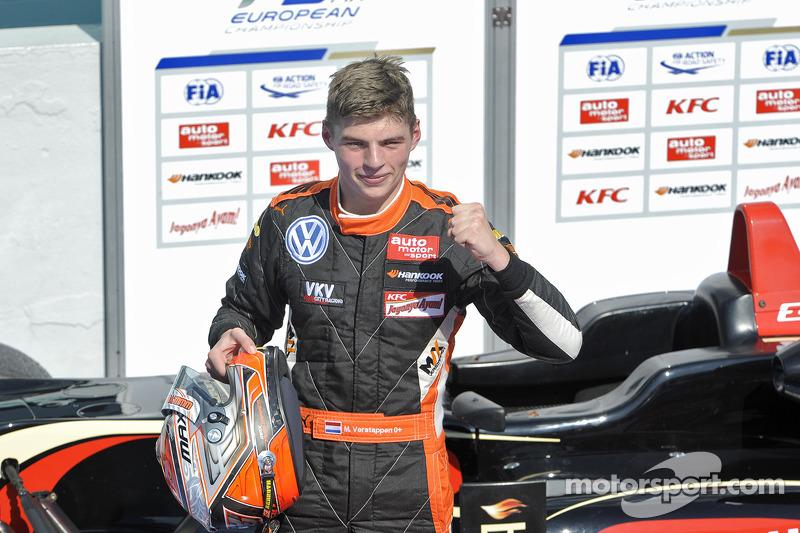 Макс Ферстаппен. Хоккенхайм, третья воскресная гонка.