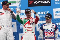 3rd position Tiago Monteiro, Honda Civic WTCC, Castrol Honda WTCC Team