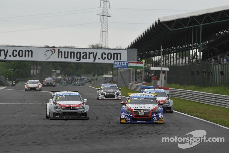 Tom Coronel, Chevrolet Cruze RML TC1, Roal Motorsport porta Yvan Muller, Citroen C-Elysee WTCC, Citroen Total WTCC