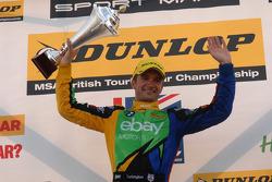 Round 9 Race winner Colin Turkington