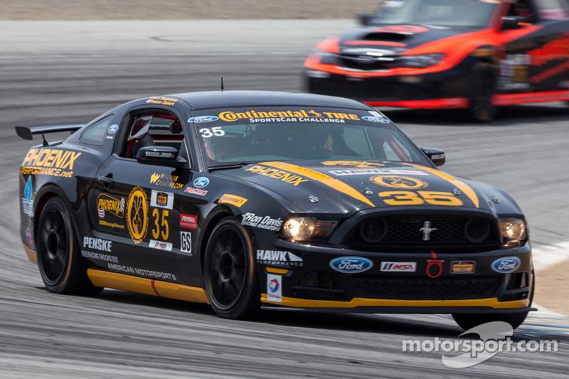 #35 Phoenix American Motorsports Mustang Boss 302R: Andrew Aquilante, Kurt Rezzetano, Preston Calver