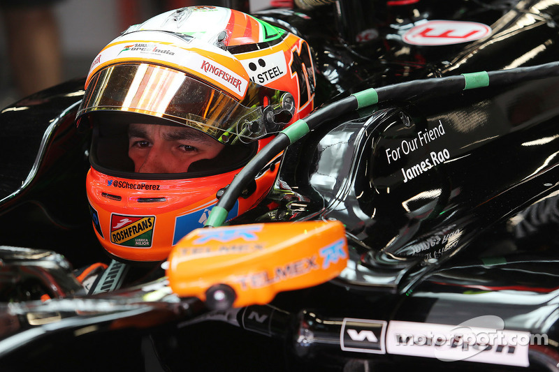 Sergio Perez, Sahara Force India F1 VJM07, tributo a James Rao