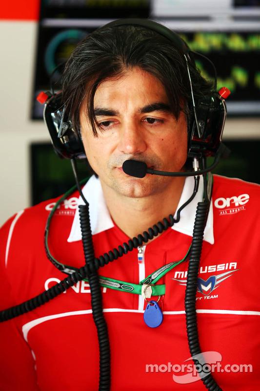 Francesco Nenci, Marussia F1 Team
