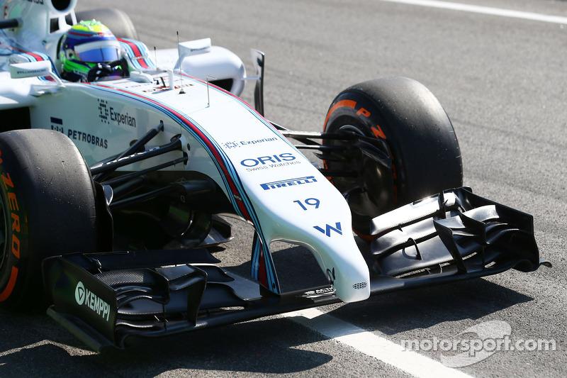 Felipe Massa, Williams FW36 ön kanat