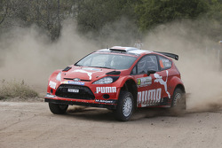 Abdulaziz Al-Kuwari and Killian Duffy, Ford Fiesta RRC