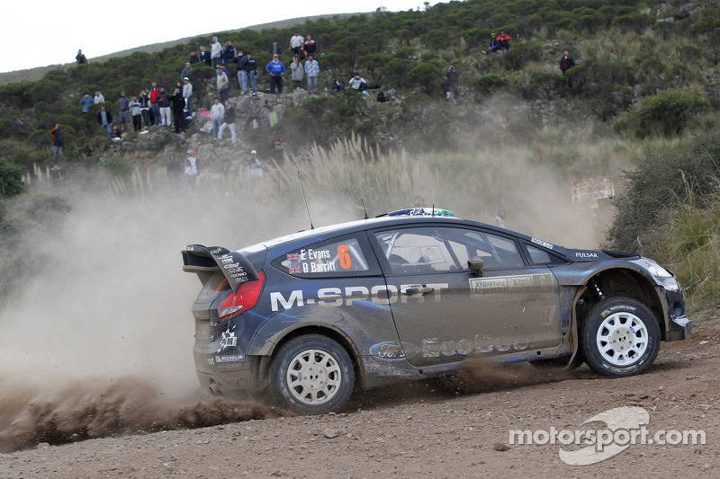 Elfyn Evans y Daniel Barrit, M-Sport Ford Fiesta WRC