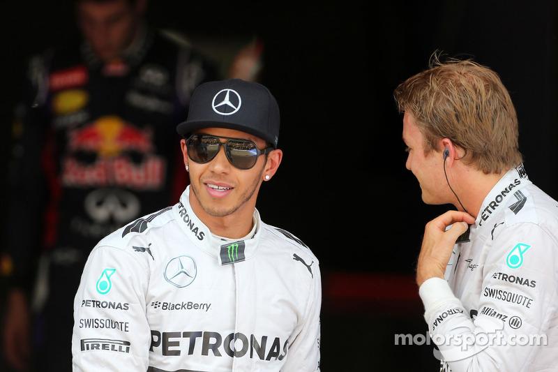 Poleman Lewis Hamilton, segundo puesto  Nico Rosberg