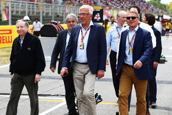 Startaufstellung: Jean Todt, FIA-Präsident