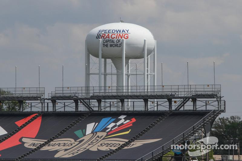 Indianapolis Motor Yarış Pisti atmosferi