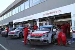 Yvan Muller, Citroen C-Elysee WTCC, Citroen Total WTCC ve Jose Maria Lopez, Citroen C-Elysee WTCC, C