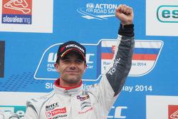 Kazanan Sébastien Loeb, Citroen C-Elysee WTCC, Citroen Total WTCC,