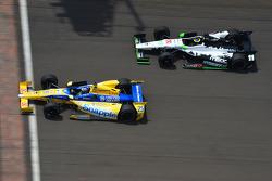 Marco Andretti and Sébastien Bourdais