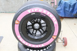 Pippa Mann's tires