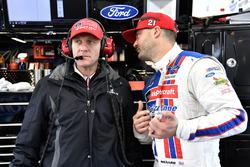Paul Menard, Wood Brothers Racing, Ford Fusion, mit Greg Erwin