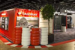 TAG Heuer Austellung bei der Genfer Motorshow