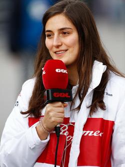 Татьяна Кальдерон, Alfa Romeo Sauber