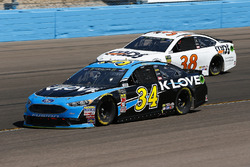 Michael McDowell, Front Row Motorsports, Ford Fusion K-LOVE RADIO and David Ragan, Front Row Motorsports, Ford Fusion MDS Transport