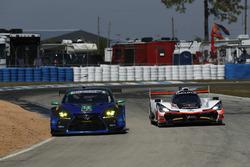 #14 3GT Racing Lexus RCF GT3, GTD: Dominik Baumann, Kyle Marcelli, Philipp Frommenwiler, #7 Acura Team Penske Acura DPi, P: Helio Castroneves, Ricky Taylor, Graham Rahal