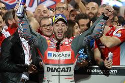 Yarış galibi Andrea Dovizioso, Ducati Team