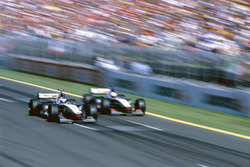 Mika Hakkinen ve David Coulthard McLaren MP4/13