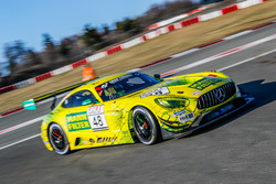 #48 Mercedes-AMG Team HTP MANN FILTER Mercedes AMG-GT3: Maximilian Buhk, Christian Hohenadel, Indy Dontje