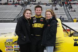 Cody Coughlin, GMS Racing, Chevrolet Silverado Jeg's.com and family