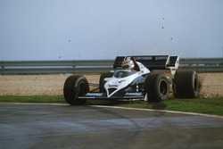 Nelson Piquet, Brabham BT53 recovers from a spin