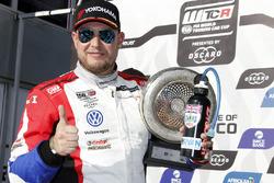 Podium: le troisième Rob Huff, Sébastien Loeb Racing Volkswagen Golf GTI TCR